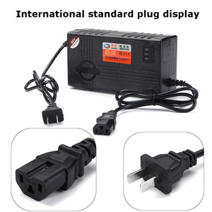 60V 20AH Battery Charger For Scooter Wheel Electric Bicycle E-bike Lead Acid Battery(China)