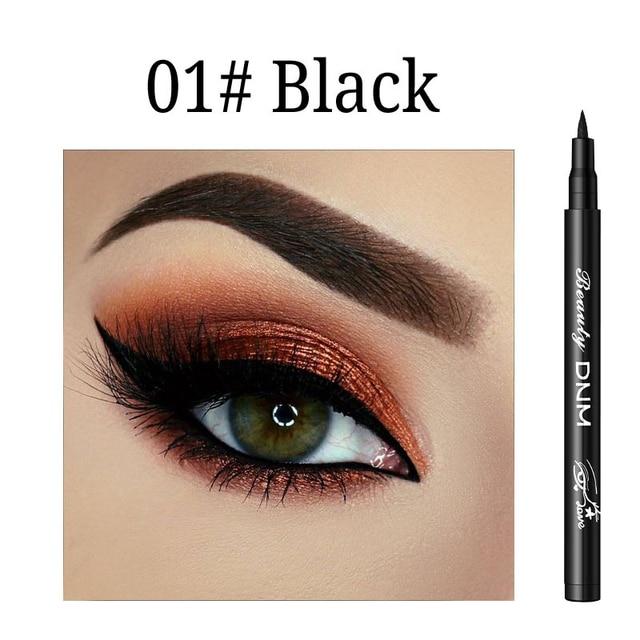 12 Colors Liquid Eyeliner Pencil Waterproof Make Up Eye Liner Pen Matte Black Red Green Colorful Liners Eyes Makeup Long Lasting 3