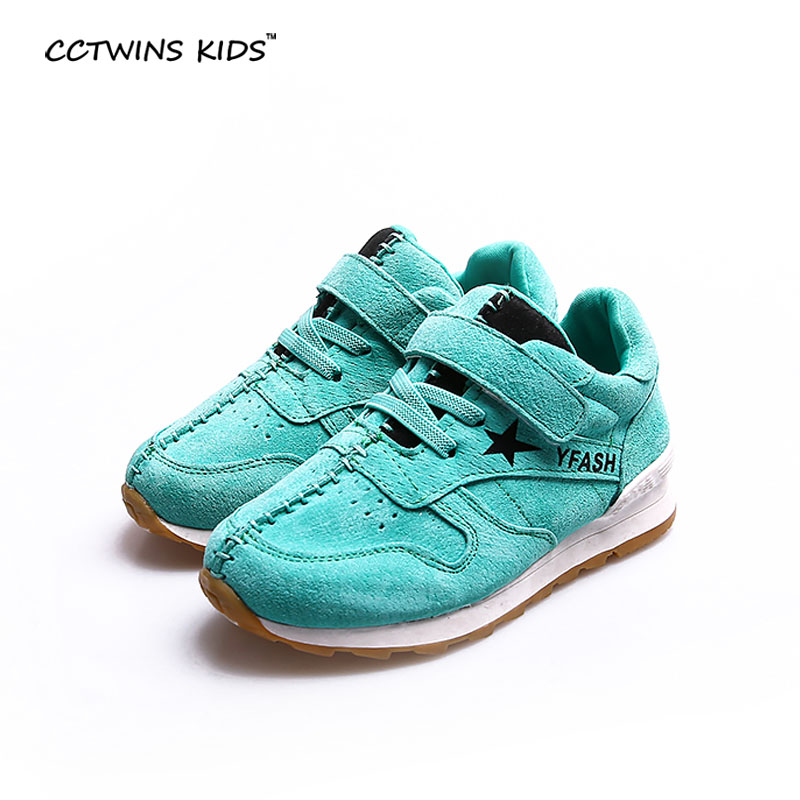 CCTWINS KIDS Spring Autumn Baby Girl Fashion Genuine Leather Shoe For Children White Sport Trainer Boy