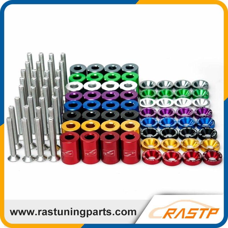 Prix pour RASTP-Racing Pièces Capot Spacer Kits Jdm Capot Risers Billet Capot En Aluminium Risers Universel Purposal LS-HR005