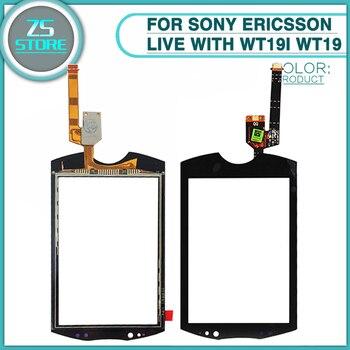 e5f222a06b8 Nueva pantalla táctil Wt19 para Sony Ericsson Live con Walkman wt19i wt19  Panel de pantalla táctil digitalizador Sensor Lente de Cristal frontal