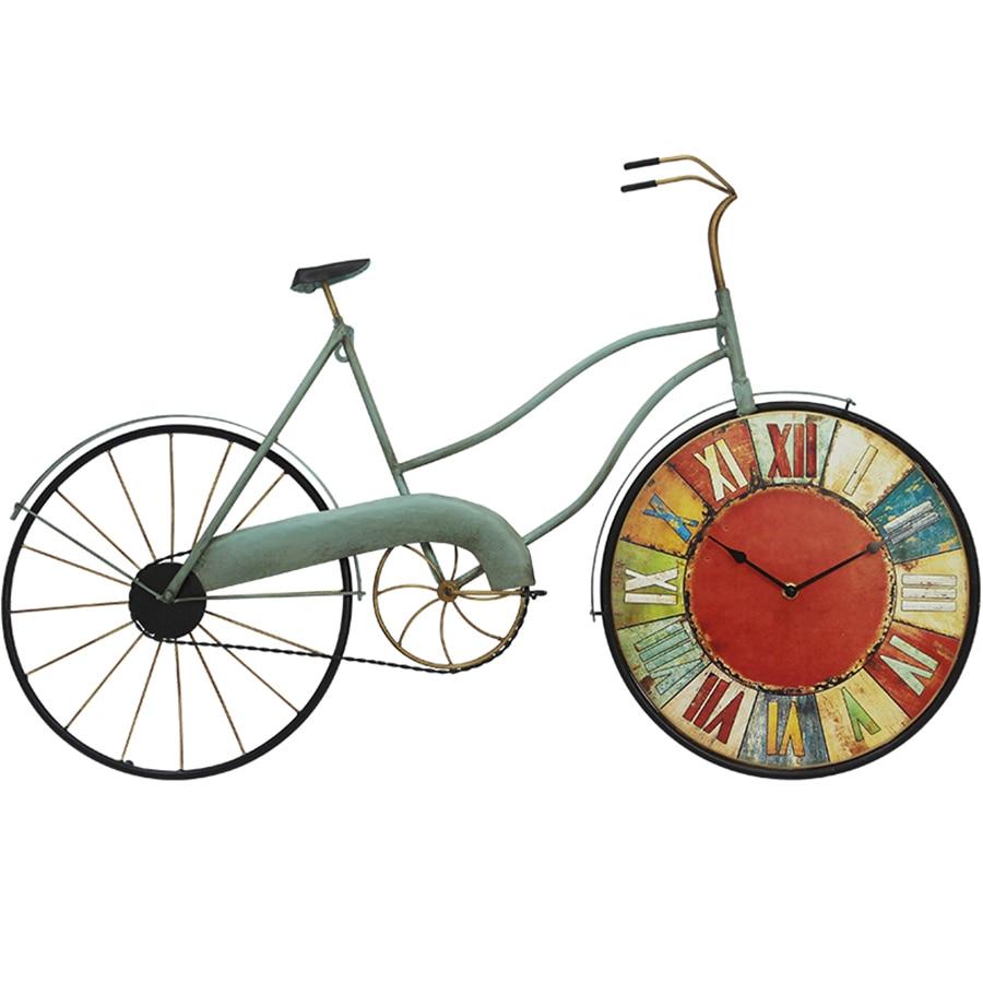 Roue de bicyclette Horloge Murale Créative Grande Taille Grandes Horloges Murales Décoratives Wandklok Montre Décorations Murales Salon Ornament5577