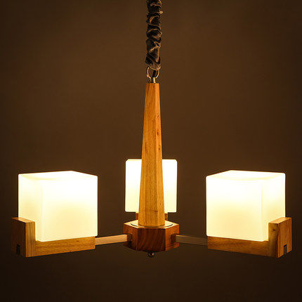 3/5/8 Head Simple & Modern Wooden Dining Room Pendant Lamp Glass  Wood Decocation Cafe Light  Light Dining Light Free Shipping тарелка the hundred acre wood 8 5 bm1257