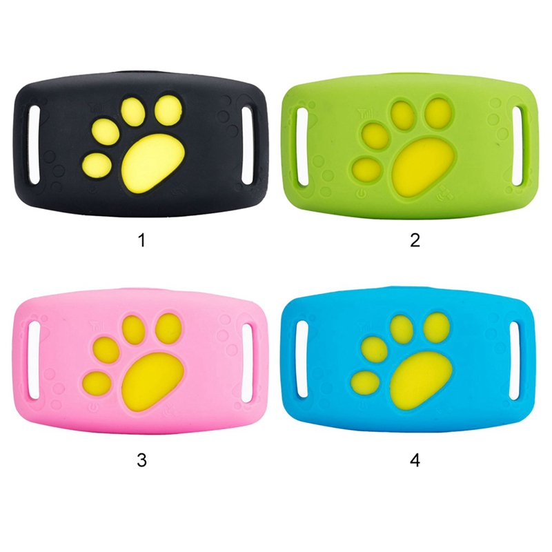 Pet GPS Tracker Dog Cat Collar Water-Resistant GPS Callback Function USB Charging GPS Trackers For Universal Dogs