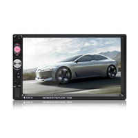 Car Multimedia Audio Player Stereo Radio 7 Inch Touch Screen HD MP5 Player Support Bluetooth Camera FM Hot Sale