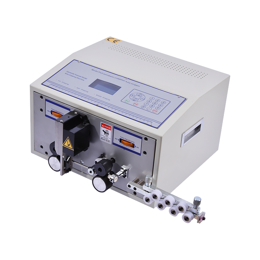 SWT508C-II Automatic wire stripping machine,model SWT508C, fast speed stripping 1mm-9999m Computer cable wire stripping machine swt508c ii automatic wire stripping machine model swt508c fast speed stripping