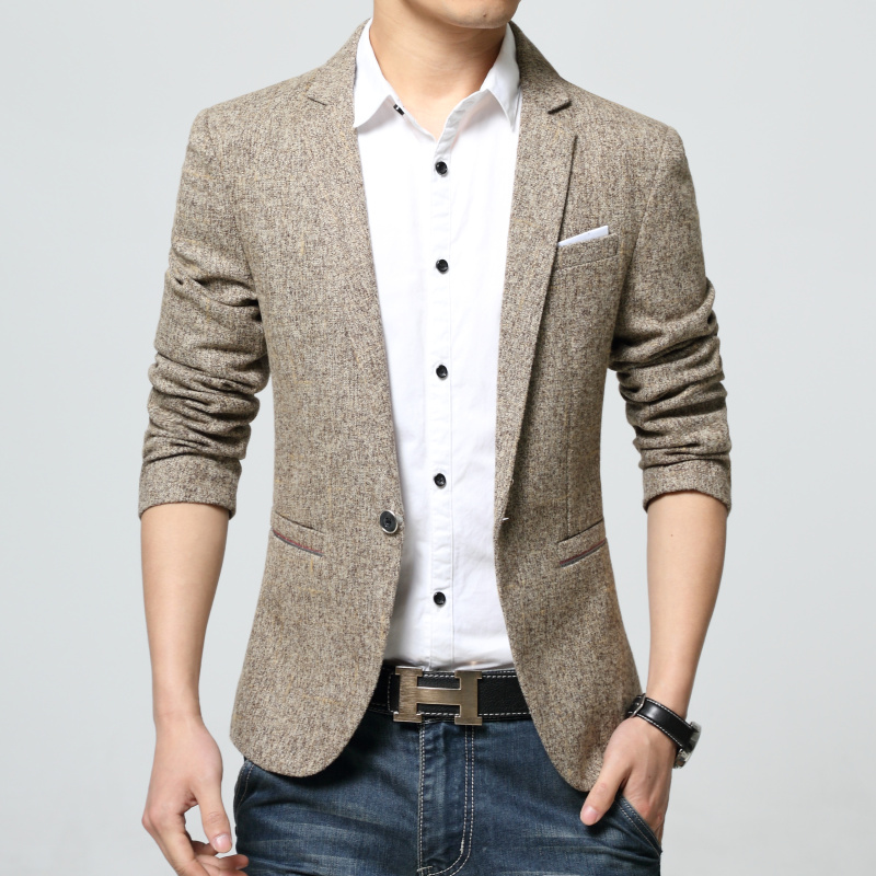 Popular Men Spring Blazer-Buy Cheap Men Spring Blazer lots from ...