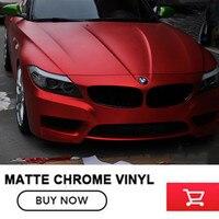 Extremely Stretch Super Matt Metallic Chrome Vinyl Wrap Film With Air Bubbble Free Matte Chrome Vinyl