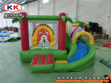 inflatable bouncer for kids/ high quality inflatable toy animal trampoline