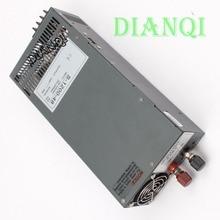 1200 W 48 V 25A Fuente De alimentación Conmutada de entrada 110 v o 220 v para Tira de LED luz AC a DC de alimentación 1200 w fuente de alimentación S-1200-1248