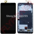 For ZTE Nubia Z7 Max NX505J LCD Screen Display with Touch Screen Digitizer Assembly+Frame free shipping; Black; HQ;100% warranty