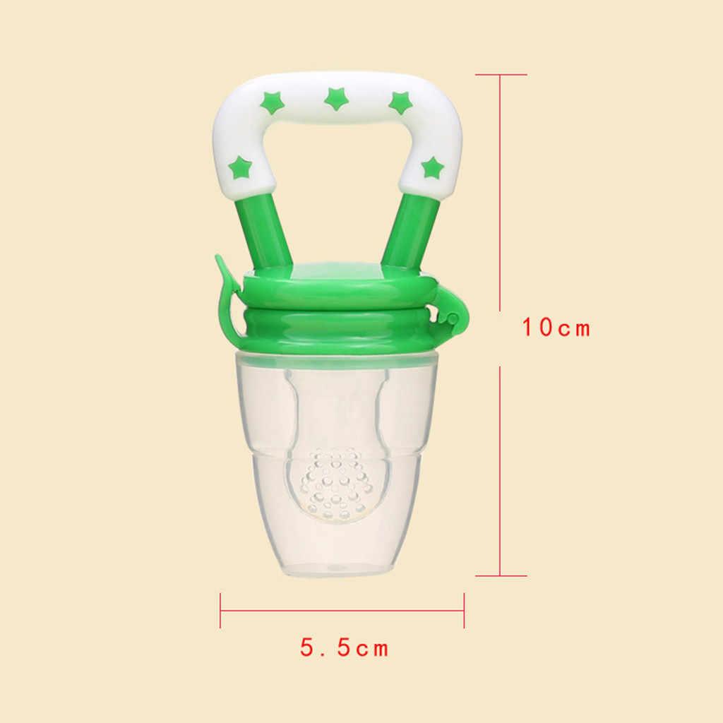 3PC เด็กทารกผักผลไม้ของเล่นแหวน Chewable Soother Baby Pacifier คลิปขวดนมเด็ก Biberon