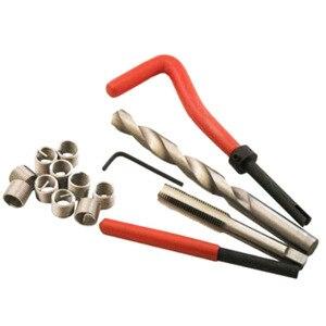 Image 1 - Car Pro Coil Drill Tool Metric Thread Repair Insert Kit M4 M5 M6 M8 M10 M12 M14 for Helicoil Thread Repair Kit Coarse Crowbar