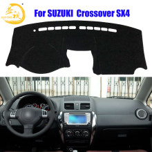 Easysee Dashboard Cover Pad Dashmat Dash Mat Sun Shade Dash Board Cover Carpet For SUZUKI crossover SX4 Dust proof(China)