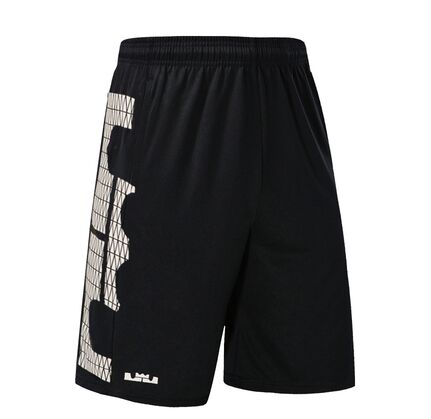 2018 LeBron James Basketball Shorts With Pocket Quick Dry Breathable Running Training Gym Sport Shorts Plus Size недорого