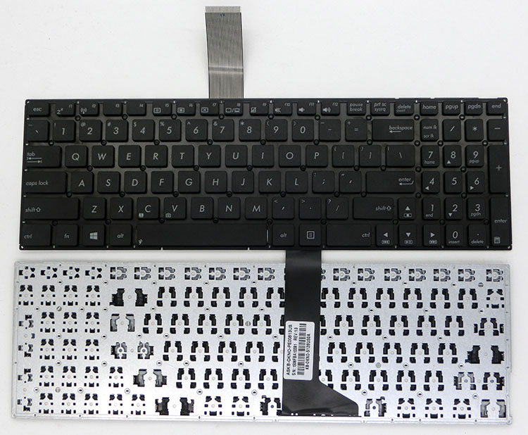 US Keyboard without frame For ASUS X550 X550C X550CA X550CC X550CL X550D X550DP X550L X550LA X550LAV X550LB X550LC X550LD