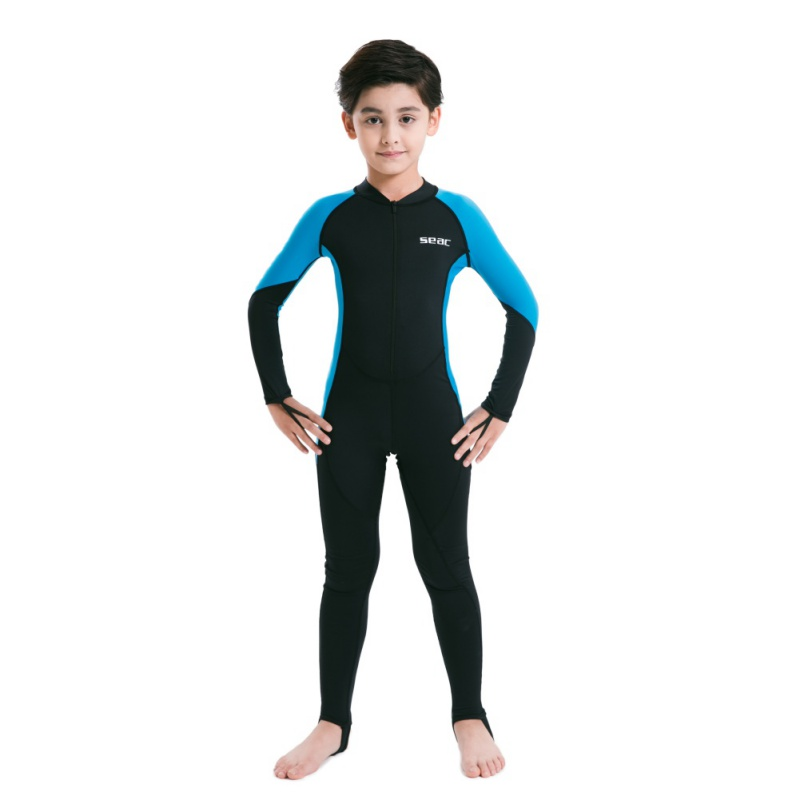 fa4c289aa6 Surfing Rash Outdoor Kids Lycra Diving Wetsuits Children One Pieces Colors  Patckwork Long Sleeve Swimwear Diving Suits