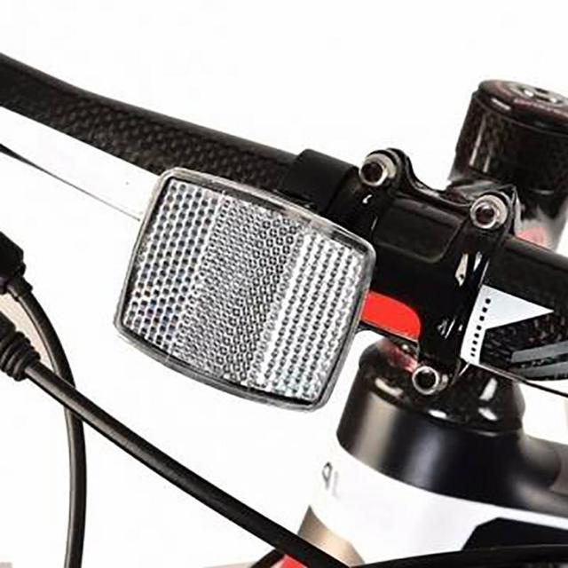 Bike Light Head Reflectors Handlebar Mount Safe Reflector Bicycle