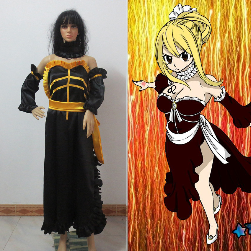 Fairy tail lucy heartphilia cosplay costume lucy cosplay dress the lion nebula version on - Anime selber machen ...