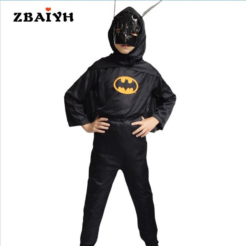 Anak Pesta Ulang Tahun Halloween font b Superhero b font Kostum Pakaian Anak Laki laki Anak anak laki laki pakaian superhero beli murah anak laki laki pakaian,Baju Anak Anak Batman