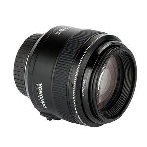 Image 3 - YONGNUO YN85mm F1.8 מצלמה עדשה עבור Canon EF הר EOS 85mm AF/MF סטנדרטי בינוני טלה קבוע מוקד עדשת מצלמה