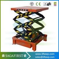 Vertical Stand Table Scissor Lift 2200 Lb. Capacity