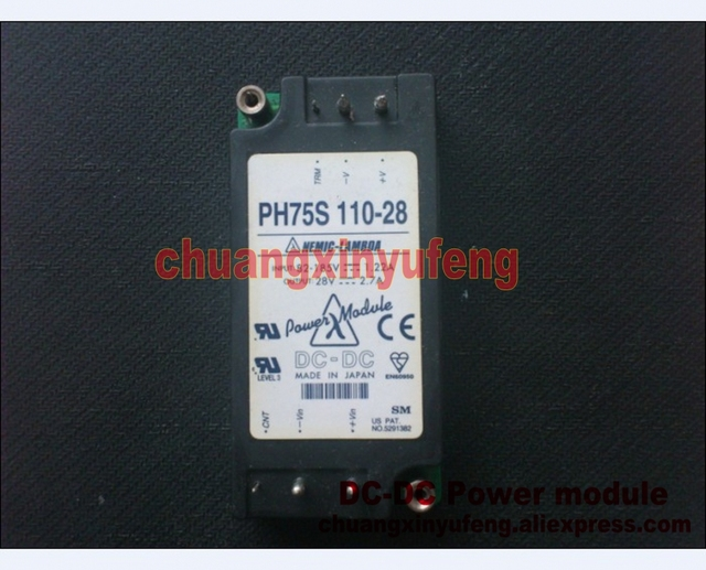 PH75S110-28 LAMBDA DC module DC-DC Power module DC110V-28V75W 2.67A isolated power supply module