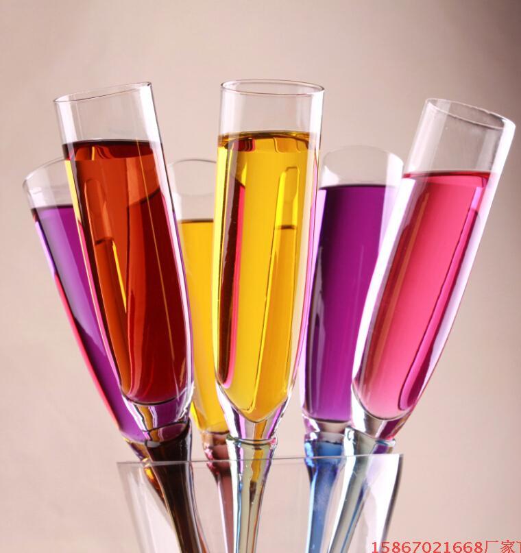 6 pcs Couleur Gobelet Plage Tasse Bar Verres De Mariage KTV Partie Champagne Cocktail Vin Verre Nmd Verre Thule Tumbler Calice doom