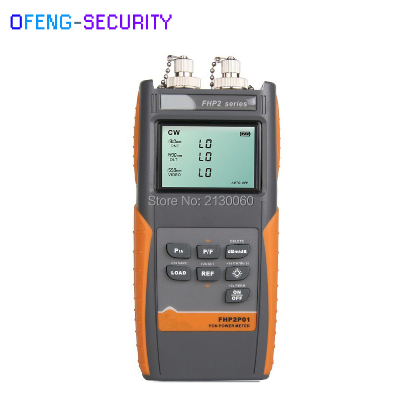 Original Fiber Optical Power Meter FHP2P01 Handheld PON Optical Power Meter With FC / SC Connector