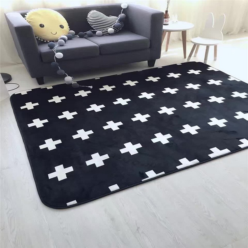 Modern Style Carpet Kids Warm Carpet For Living Room Bedroom Non-Slip Carpets Big Floor Mat Doormat Carpet Rug Decorate 80x185cm