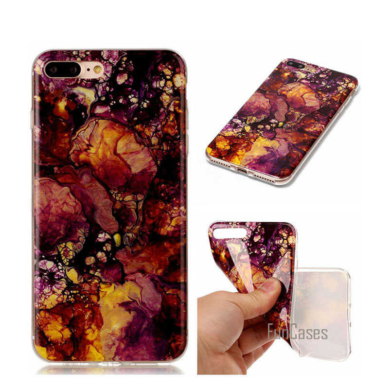 Soft TPU Capa Case For Samsung Galaxy S3 S4 S5 S6 S7 Edge S8 Plus J3 J5 J7 2016 A3 A5 2017 Marble Cover Fundas Phone Cases
