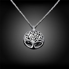 Michaela Lose Money Promotions,925 jewelry silver color necklaces & pendants The tree of life collares populares joias(China)