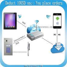 IP video intercom Wifi video intercom wireless video intercom unlock from smartphones