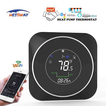 HESSWAY 24VAC absorbed heat carry heat pump WIFI THERMOSTAT for compressor pressure switch control valve