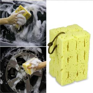 Image 3 - Car Cleaning Sponge Honeycomb Big Macroporous Sponge Motorcycle Brush Washer Truck SUV Auto Car Care Cleaning Tool Accessories