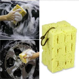 Image 3 - Esponja de limpieza de coche panal grande esponja macro porosa motocicleta cepillo lavadora camión SUV Auto cuidado del coche herramienta de limpieza Accesorios