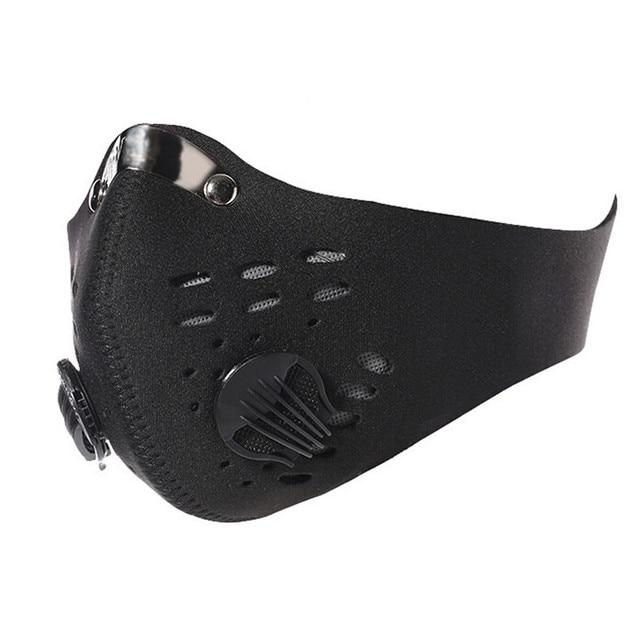 Горный велосипед активированный уголь пыль маска велосипедов Открытый для верховой езды маска мотоцикл велосипед гонки лыжные Половина маска #30