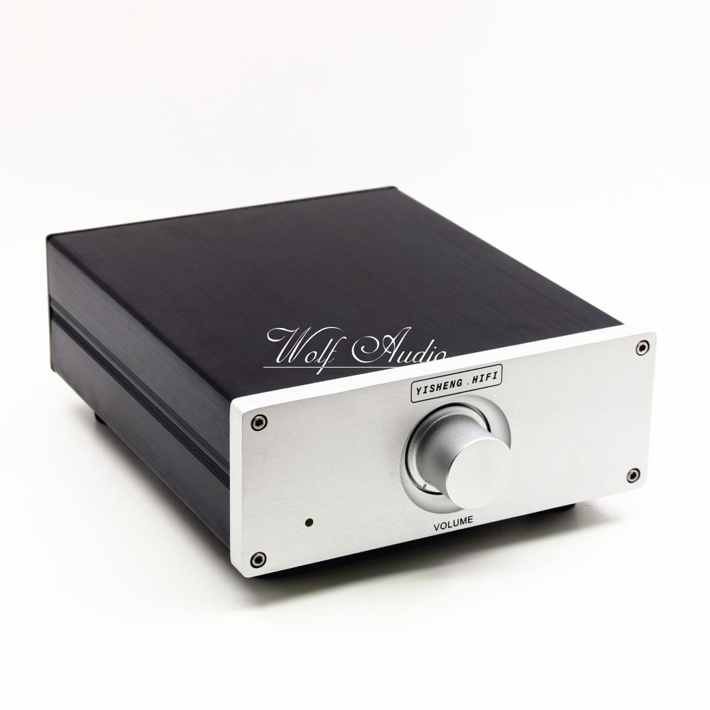 Finished HiFi Advanced Relay Volume Controller Balanced Preamplifier / Passive Preamp finished hifi advanced relay volume controller balanced preamplifier passive preamp