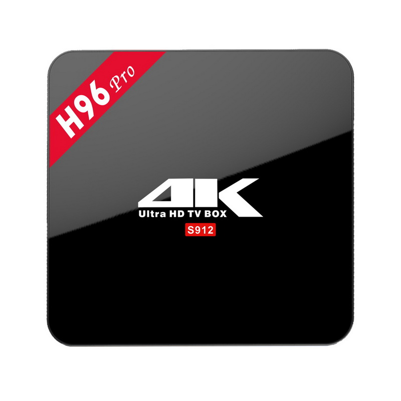 H96 Pro Android 6.0 TV Box 3G 32GB 2G 16G Amlogic S912 Octa Core KODI Bluetooth Wifi Smart Mini PC 4K H.265 Media Player A95X