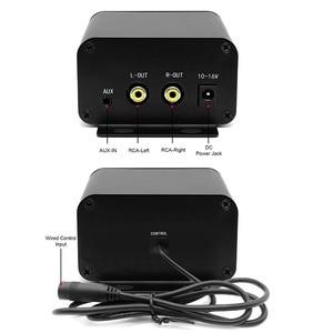 Image 5 - Aileap kit Audio pour moto avec amplificateur stéréo 2ch 150W, haut parleurs 4 pouces, étanche, Bluetooth, Radio FM, MP3 AUX (noir)