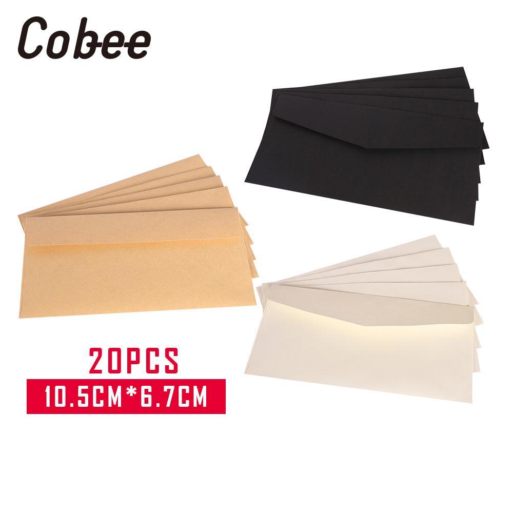 Envelopes Card Postcard Envelope 20PCS Crafts Colored Gift 10.5*6.7CM