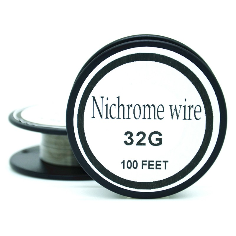 Nichrome wire 36 Gauge  100FT 0.1mm heating wire for RDA RBA Rebuildable Atomizer Coil E-Cigarette   Vaporizer coils