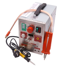 Sunkko Brand Welding Equipment Spot Welders 709A Model Soldering Station AC220V 500A 1.9KW 150-450 Degrees Celsius Free Delivery