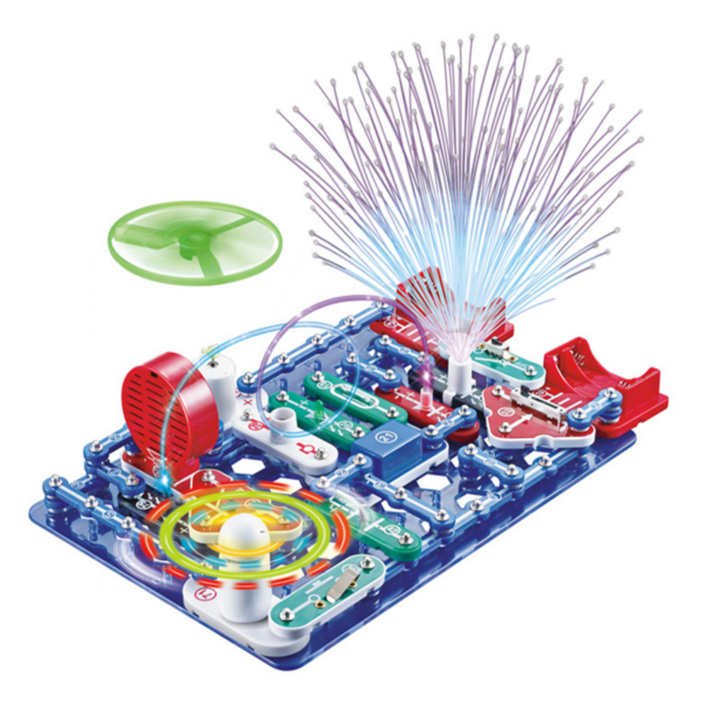 Educational Science Experiment ToysElectronic Circuits Electronics Discovery Kit Building Blocks Assembling Toys for Kids