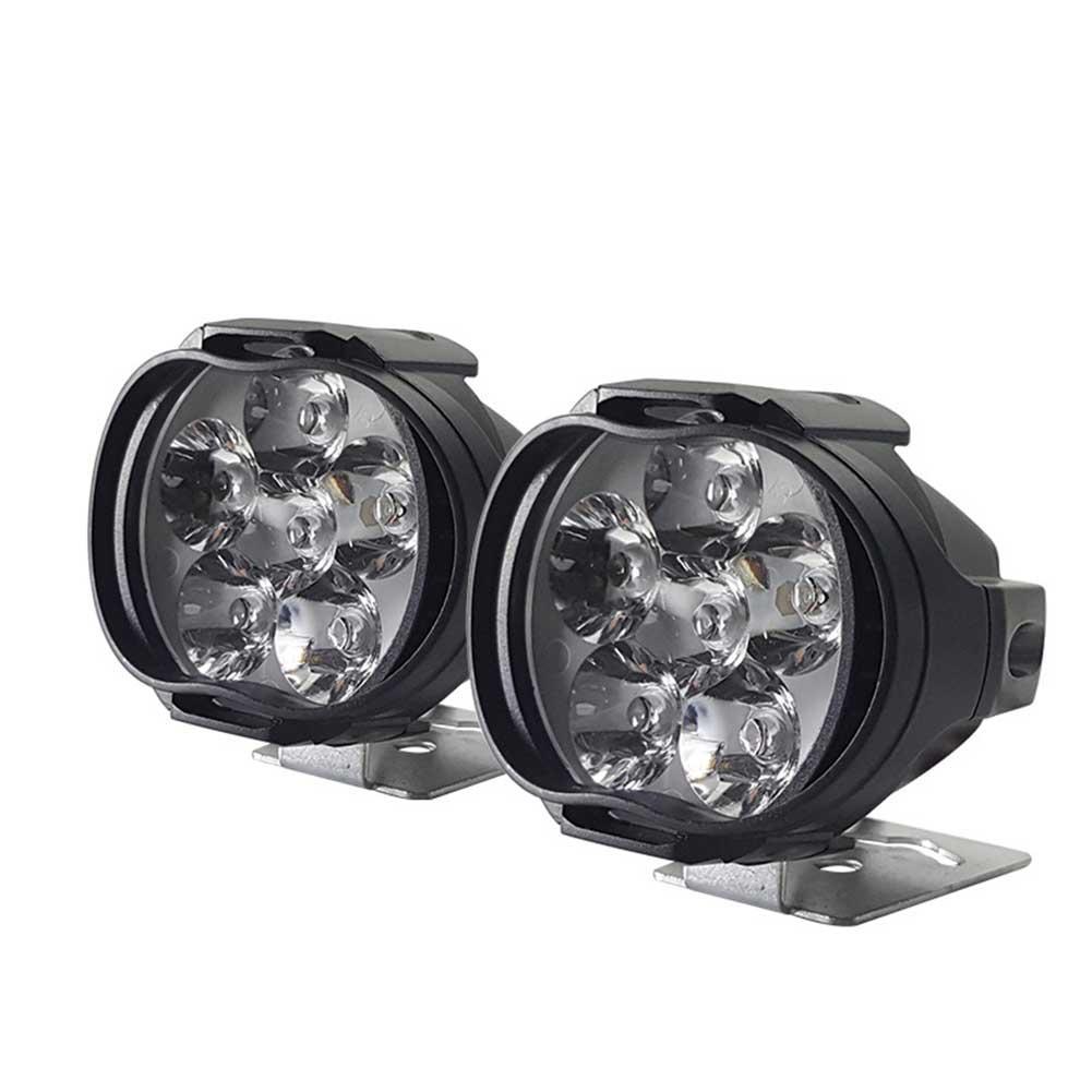 Motorcycle LED Spotlight External Fog Lights Electric Vehicle Bicycle Spotlight Auxiliary Car Headlight Universal Car Light