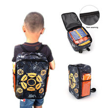 The New Target Bag Gun Toy Pouch Refill Clip Darts Bullets Bag For Nerf Airsoft Pistol Toy Gun Shooting Tactical Backpack(China)