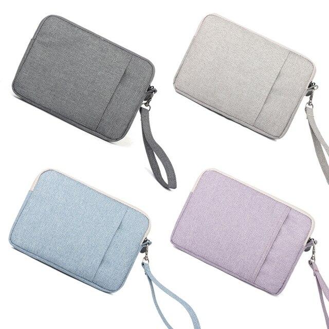 New Fashion Nylon Laptop Sleeve Case Bag for GPD Pocket 7 Inch Mini Laptop Cover for GPD Pocket