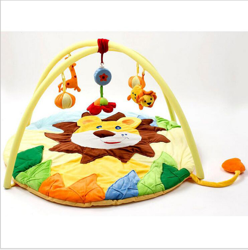High Quality Super Soft Big Lion Baby Game Blanket Crawling Puzzle Early Education Gym Play Cartoon Tapete Mat Toys Gift