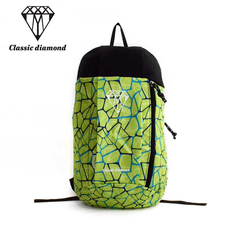 Классические алмазы Для женщин красочные молния небольшие рюкзаки для подростков мальчиков и девочек Сверхлегкий нейлон Водонепроницаемый дорожная сумка 2018