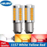 smd 5630 led ASLENT 1157 P21/5W BAY15D Super Bright 33 SMD 5630 5730 LED auto brake lights fog lamp car daytime running light stop bulbs 12V (1)